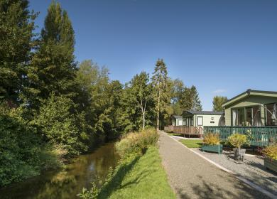 Holiday home ownership at Arrow Bank Herefordshire