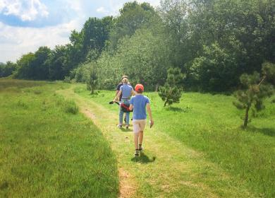 Nature trail 5 star caravan holiday park photo