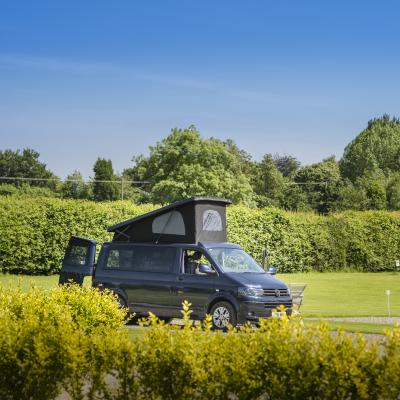 quiet 5 star touring site at Arrow Bank Herefordshire