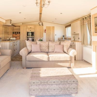New caravan holiday homes for sale at Arrow Bank
