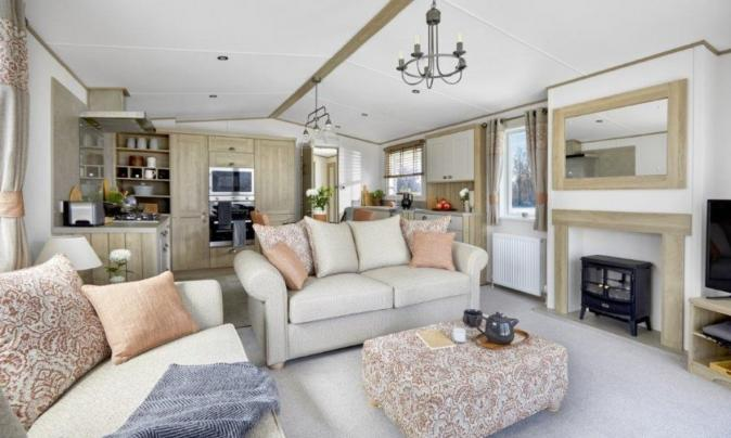 ABI Ambleside Premier for sale 5 star caravan park - Lounge