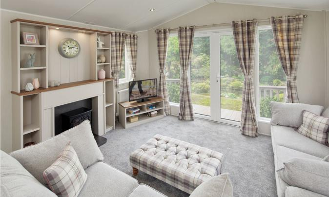 Willerby Sheraton Elite for sale at Discover Parks - lounge photo